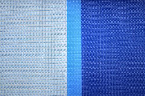 Malla sombra 95% monofilamento azul